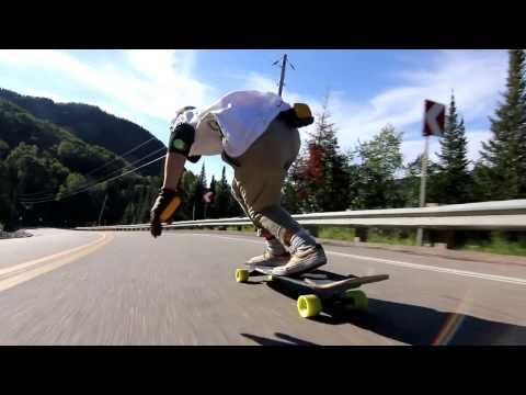 Longboarding: Roadtrip In Quebec With Rollin Boardshop