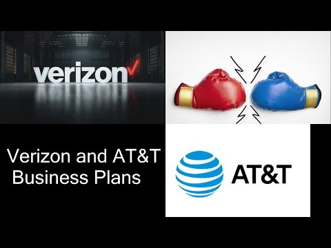 Verizon And AT&T Business Plans