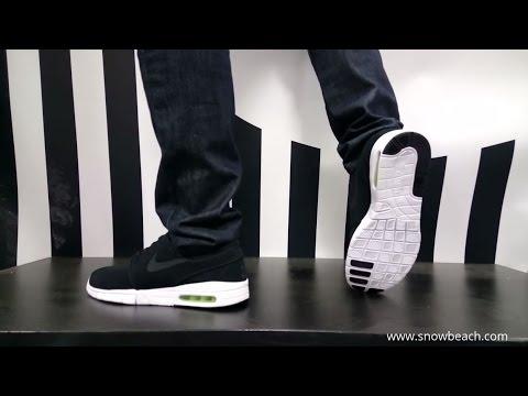 Nike Sb Stefan Janoski Max Black White