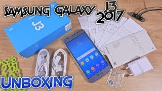 Samsung Galaxy J3 2017 Unboxing and Hands On - First Boot