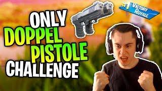 NUR mit Doppel Pistole Gewinnen Challenge (SCHWIERIG) 😱