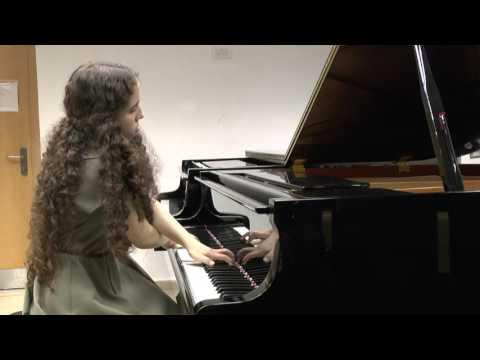 Yael Koldobsky plays Paul Ben Haim – 3 pieces for piano from Op. 34