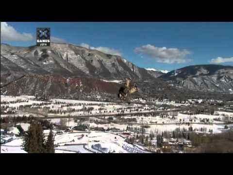 Men's Snowboard SlopeStyle Elimination Run 2 X Games Aspen 2014