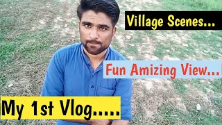 My 1st Vlog At Village