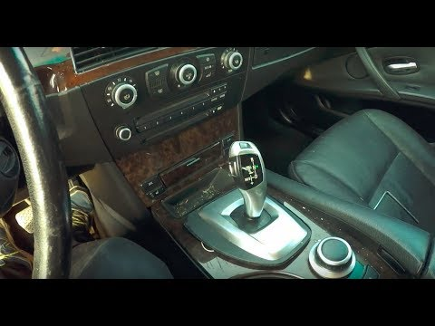 BMW E60 E61 How To Fix Shifter Stuck In Park