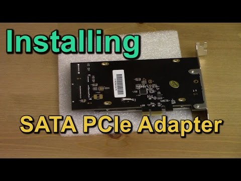 Installing PCIe SSD Adapter