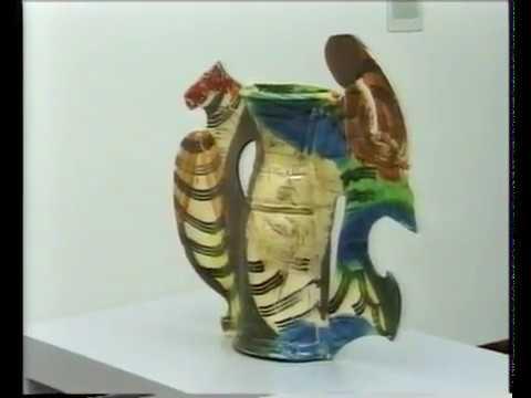 Stedelijk Museum met Murielle Clement, sept. 1996, Richard Newman