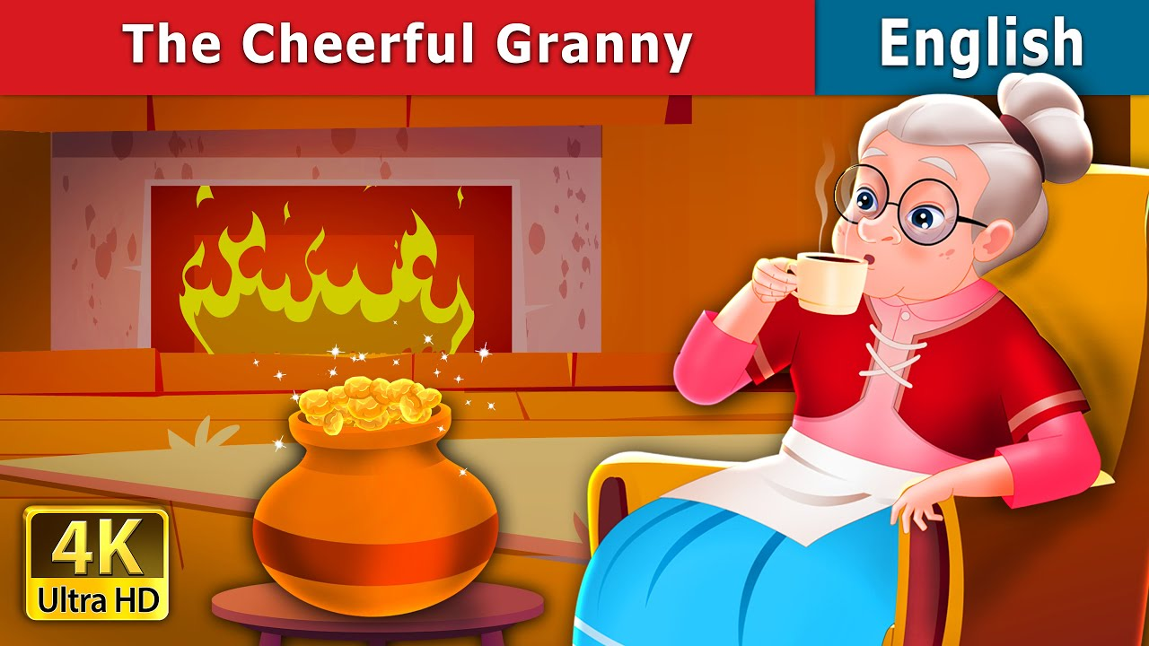 Download The Cheerful Granny Story | Stories for Teenagers | English Fairy Tales