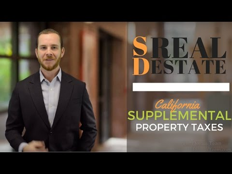 Supplemental Property Taxes— Explained! | The Real Estate Jedi™ | San Diego Real Estate