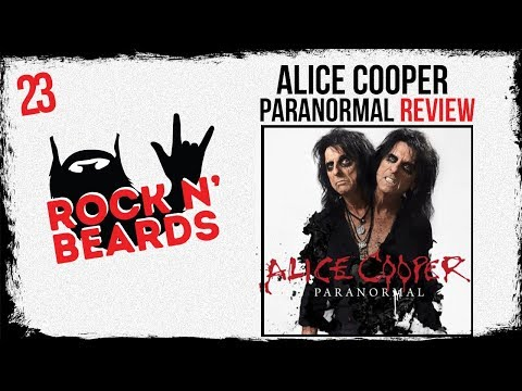 Alice Cooper - Paranormal Review