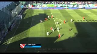 Gol de Pisano. Banfield 0 - Independiente 1. Fecha 11. Primera División 2015. FPT.
