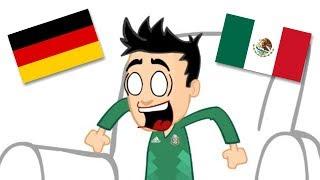 Cosas que te sucedieron al ver México VS Alemania ⚽