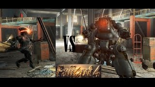 Fallout 4 Взламываем Роботов