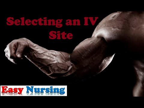 Where to start an IV ?!?! - Easy Nursing