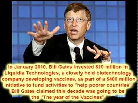 Bill Gates is EVIL - The Truth about Bill Gates Foundation Depopulation Agenda