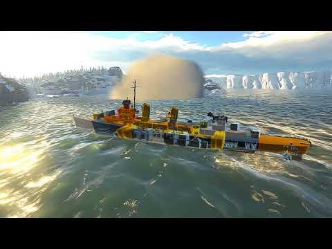 War Thunder : Naval Ships  US Navy Realistic Gameplay