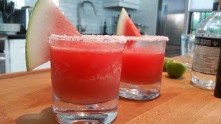 Doug Cooking - Frozen Watermelon Margaritas