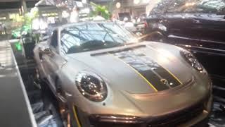 Kit Carrosserie Carbon pour Porsche 991 Turbo à Top Marques Monaco 2018