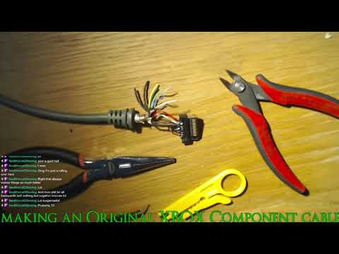 Making An Original XBOX Component Cable