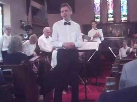 Saugeen Bach Choir at St. Thomas' Anglican Church Owen Sound June 5 2016