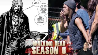 "The Walking Dead Season 6 Second Half –Paul ""Jesus"" Monroe on Set!"