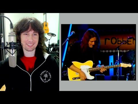 British guitarist reacts to Robben Fords EPIC restraint, dynamics AND control!