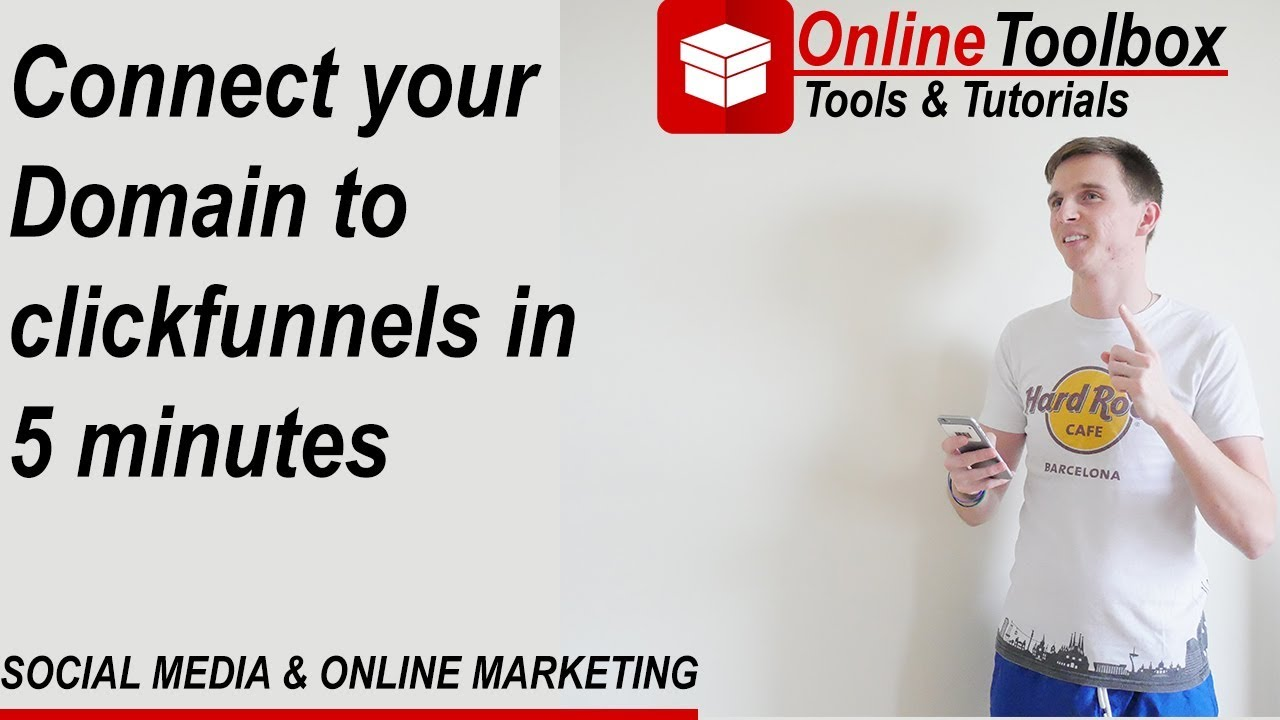 Connecting Godaddy to clickfunnels use your Domain with clickfunnels easy set up willjack.com