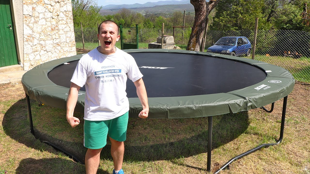 I GOT MY OWN TRAMPOLINE!!!