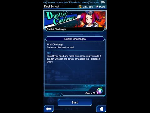 Yugioh Duel Links - The Final Challenge : Duelist Challenge #5