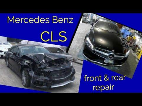 Mercedes Benz  CLS 550 Кузовной ремонт в Армении/Body Repair In Armenia
