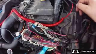 Dodge Caliber 2007 2.0l Паразитная утечка 2.5А. TIPM.Решение.