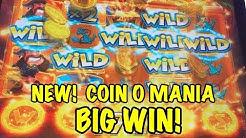 Coin O Mania - BIG WINS!  BONUS!