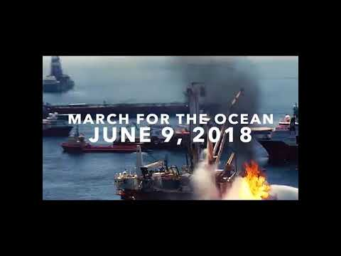 Peg Howell - Petroleum Engineer - Stop offshore drilling! March for the Ocean - Twitter & Instagram