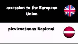 Say it in 20 languages # accession to the European Union