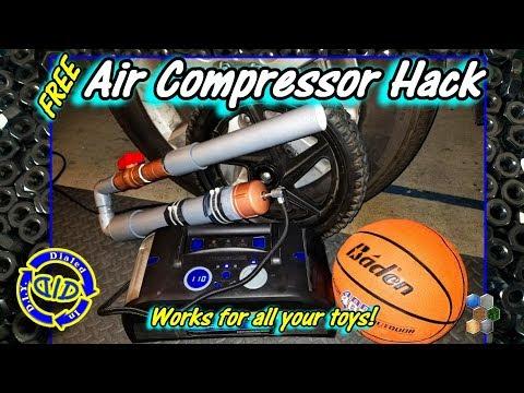 Portable Air Compressor - Free & Easy Fix