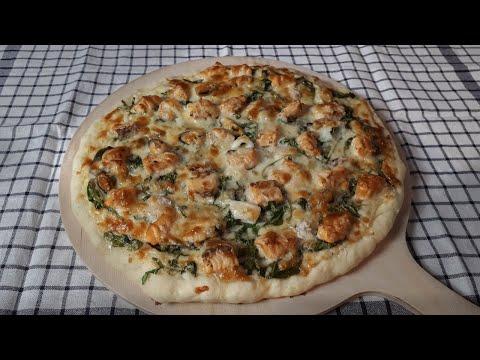 pizza-blanche-au-saumon-à-ma-façon-🍕#145