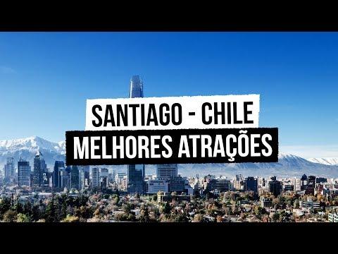 Lugares OBRIGATÓRIOS p/ se visitar em Santiago do Chile - Principais Atrações