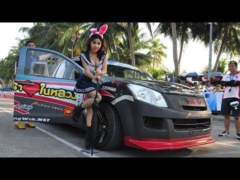 Isuzu D-MAX (No.99) in Bangsaen Thailand Speed Festival 2013 Round 8