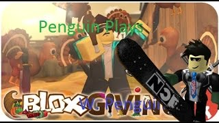 Roblox Thanksgiving! The Mad Turkey Part 3 W/ Penguin MURDER MADNESS WIN!!