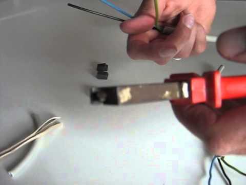 anleitung wago klemmen richtig benutzen tutorial wagoklemmen kabel verbinden. Black Bedroom Furniture Sets. Home Design Ideas