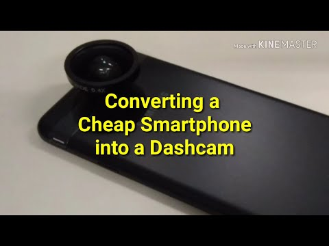 Converting A Cheap Smartphone Into A Dashcam (used A Galaxy J7 SkyPro)