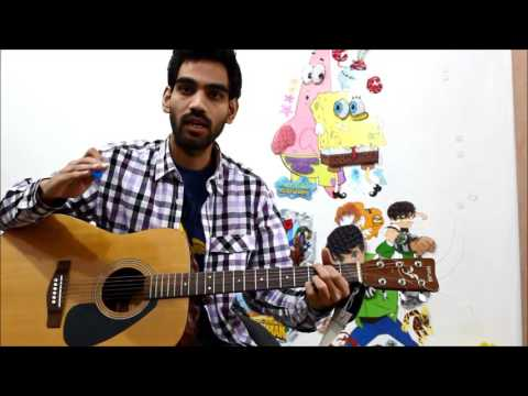 Chords Shifting , Strumming Problem , Singing with Guitar Hindi - Beginners problems lesson