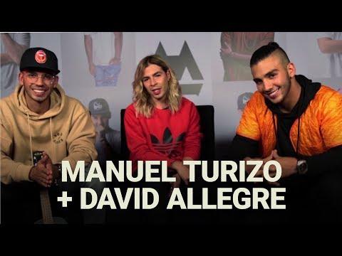 Entrevista a Manuel Turizo por David Allegre. ¡Se armó la vaina loca!