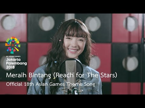 Mix - Meraih Bintang (Reach for The Stars) - Official 18th Asian Games Theme Song by Jannine Weigel