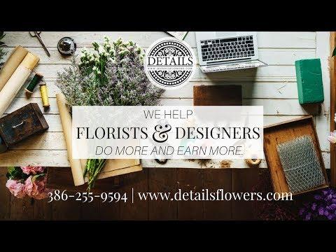 DETAILS FLOWERS:  FLOWER DESIGN SOFTWARE