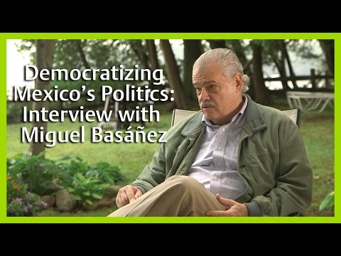 Democratizing Mexico's Politics: Interview with Miguel Basáñez
