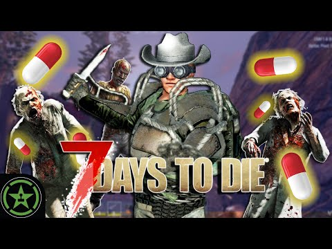 Pills Full Of Fear! - 7 Days To Die (Part 7) | Live Gamepaly