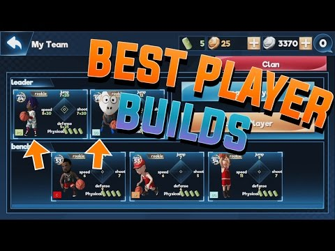 THE BEST PLAYER BUILDS ON SBA!!