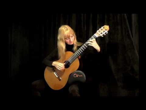 SHE'S LEAVING HOME   (The Beatles) classical guitar by Monika Hiertz