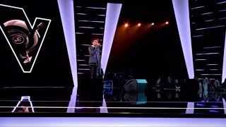 Justin - Lovely  Blind Auditions  The Voice Kids  VTM